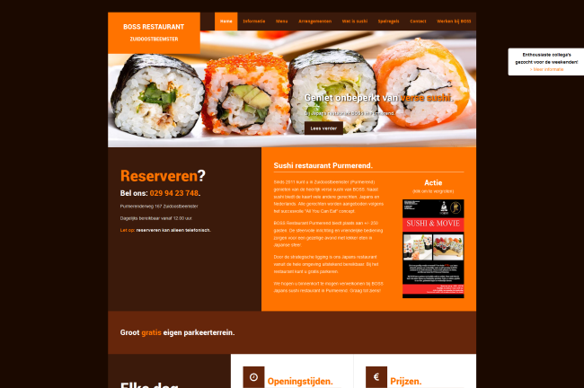 Portfolio - Boss Restaurants